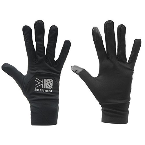 karrimor-mens-liner-gloves-pairs-mitten-outdoor-tight-fitting-sports-black-l-xl