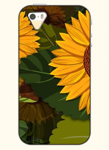 Oofit Phone Case Design With Sunflower For Apple Iphone 4 4S 4G front-600207