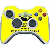 > > > Decal Sticker < < < Funny Pikachu Quote Design Print Image Xbox 360 Wireless Controller Vinyl Decal Sticker Skin By Trendy Accessories