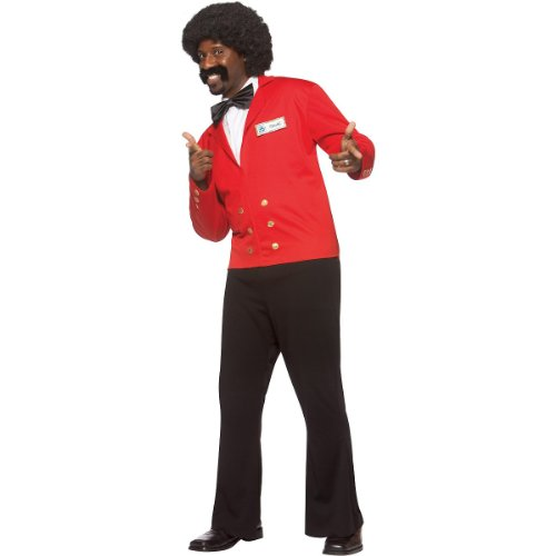 The Love Boat Isaac the Bartender Wig Adult Halloween Costume Accessory