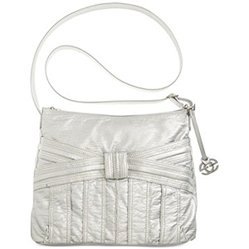 Red By Marc Ecko Pocket Bow Sling Bag, Silver
