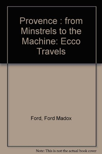 provence-ed-2e-pb-ecco-travels-by-ford-1992-01-21