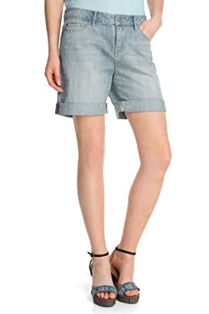 ESPRIT - Jeans - Boyfriend Femme - Bleu - Blau (417 super bleach) - FR : 28 (FR 38) (Brand size : 28)