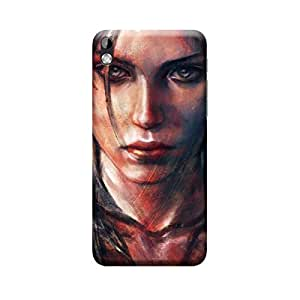 CaseLite Premium Printed Mobile Back Case Cover With Full protection For HTC 816 (Designer Case)