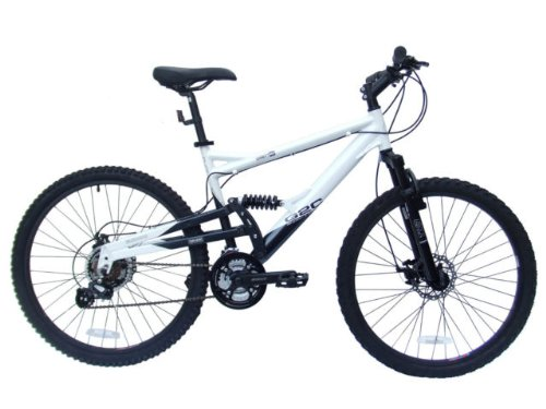 G2C C129 Shimano disc brake Full Suspension mountain bike 21 speed black