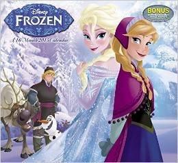 Disneys FROZEN Calendar 2015 + Bonus Pack Of FROZEN Collectible Stickers!!!
