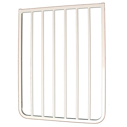 "21.75"" Gate Extension Finish: White - 1"