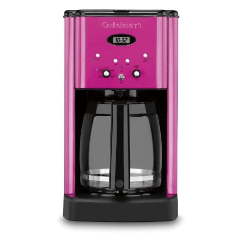 Cuisinart DCC-1200MP Brew Central 12-Cup Programmable Coffeemaker, Metallic Pink