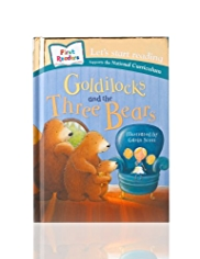First Readers Goldilocks & the Three Bears Story Book