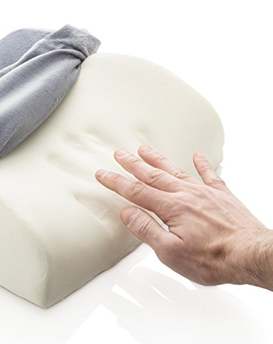 Premium Lumbar Support Pillow - 100% Memory Foam