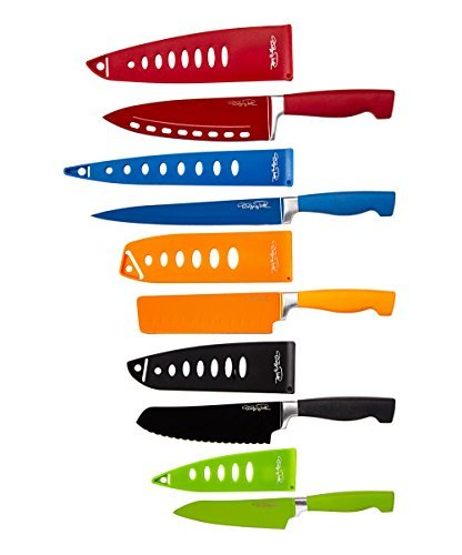 Wolfgang Puck Bistro Elite 10-piece Colored Nonstick Cutlery Set (WP10CUT14) (Wolfgang Puck Knife compare prices)