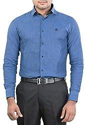 Unkonventional Men's Casual Shirt (unkmonbluzzm_Blue_38)