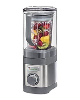 Jamba Appliances 58915 Quiet Shield Blender Jar, 32 oz, Gray