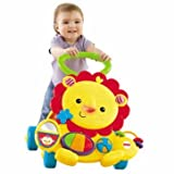 Slick Fisher-Price Musical Lion Walker - Cleva Edition ChildSAFE Door Stopz Bundle