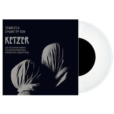 "KETZER, Starless WHITE VINYL - 7""EP"
