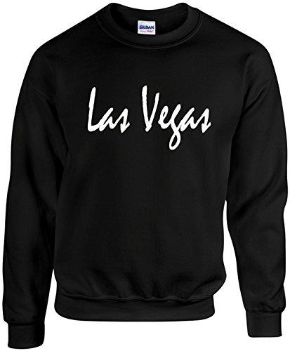 Adult Unisex Crewneck Size XL (LAS VEGAS (NEVADA)) Novelty Sweatshirt (Las Vegas Merchandise compare prices)