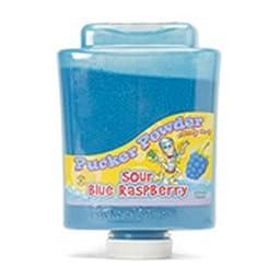 Blue Raspberry Pucker Powder Candy Two 9 Ounce Bottles