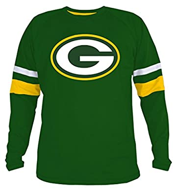 Mens Packers Athletic Contrast Cotton T-Shirt