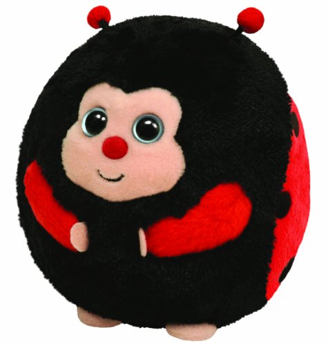 Ty Beanie Ballz Dots - Lady Bug back-593869