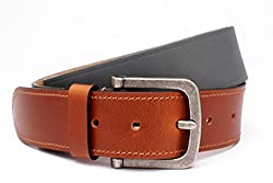 Ohm Leather Men's Belts (B00Umkr7Mw_Brown)