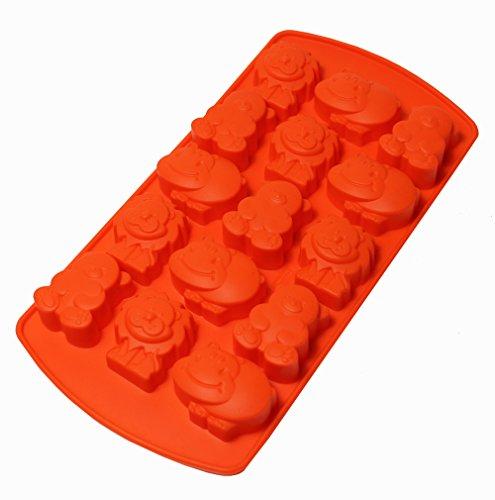 bækka Moule pour Pralines et Chocolats - orange