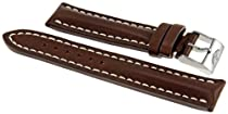 Breitling Brown Calfskin 20-18 MM Leather Strap 431X