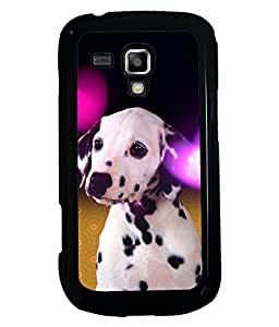 Printvisa 2D Printed Dog Designer back case cover for Samsung Galaxy S Duos S7582- D4491
