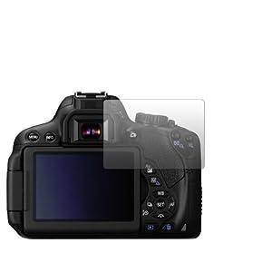 """2 x Slabo Displayschutzfolie Canon EOS 650D Displayschutz Schutzfolie Folie """"Crystal Clear"""" unsichtbar MADE IN GERMANY"""