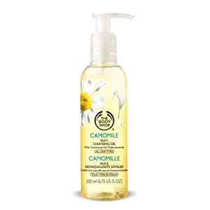 The Body Shop Camomile Silky Cleansing Oil, 6.7 Ounce