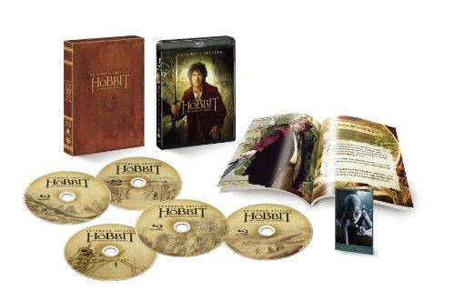 ホビット 思いがけない冒険 エクステンデッド・エディション (5枚組/3D本編付)(初回限定生産) [Blu-ray]