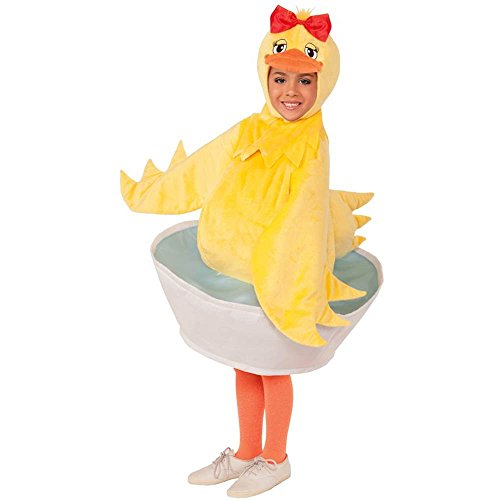 Rubber Ducky Girl Kids Costume - Up to Size 10