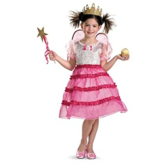 Pinkalicious Deluxe Costume, Child (3T-4T)