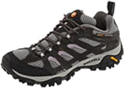 Merrell Women\'s Moab Ventilator Hiking Shoe,Beluga/Lilac,7.5 M US