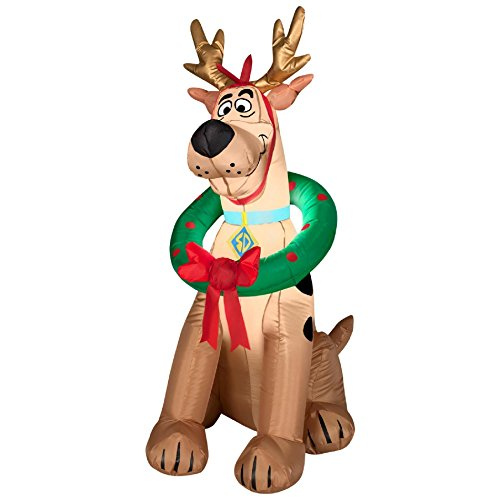 Scooby Doo 3.5 Ft Inflatable Scooby Doo Christmas Decoration front-514360