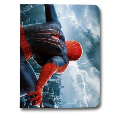 leather-flip-case-carcasa-ipad-mini-4-superheros-spiderman-city-b-