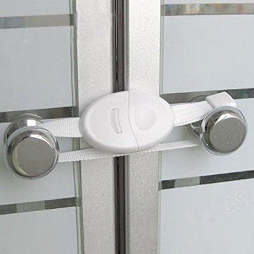 Vanki Baby Kids Child Toddler Safety Door Lock Fridge Drawer Toilet Cupboard Cabinet 2pcs Home