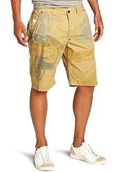 J.C. Rags Men's Treated Twill Short Shorts