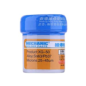 LOCHI STORE 2PCS/SET Welding Flux Mechanic Soldering Solder Welding Paste Flux XG-50 BGA SMT Soldering DYI Repair Tool NEW