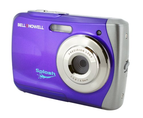 41YcCMto55L Bell+Howell Splash WP7 12 MP Waterproof Digital Camera Purple