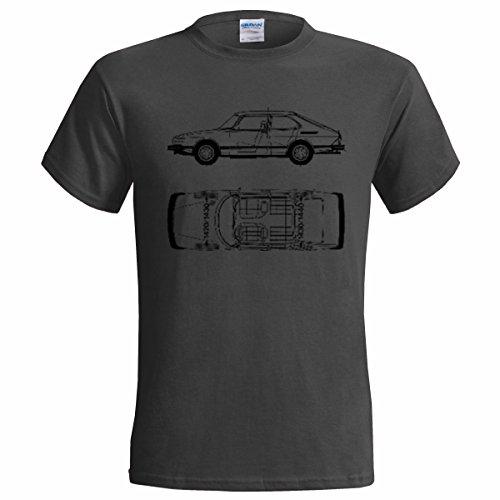 saab-900-1984-blueprint-mens-t-shirt-classic-car-xxxl52-54-charcoal