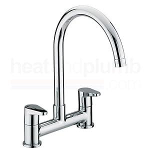 Bristan QST DSM C Quest Deck Chrome Plated Sink Mixer       reviews and more description