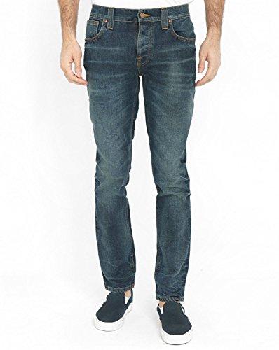 nudie-jeans-felpa-donna-blu-34w-x-32l