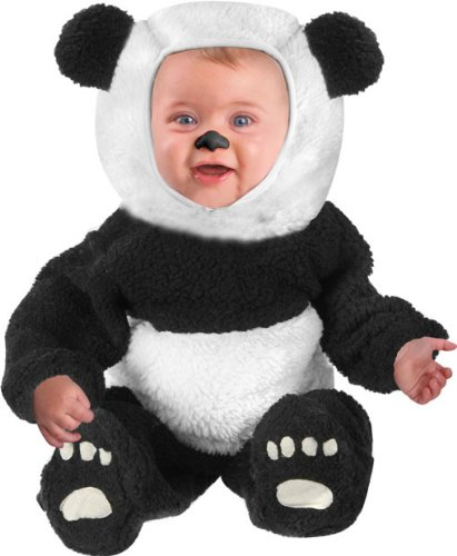 Infant Baby Panda Bear Halloween Costume Months