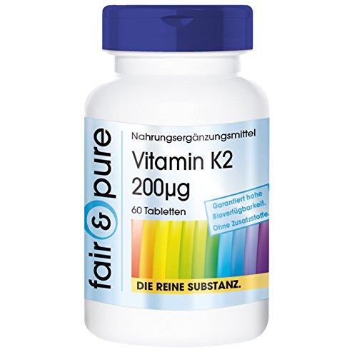 vitamin-k2-200mcg-menaquinone-mk-7-in-pure-form-no-additives-excipients-60-vegetarian-tablets