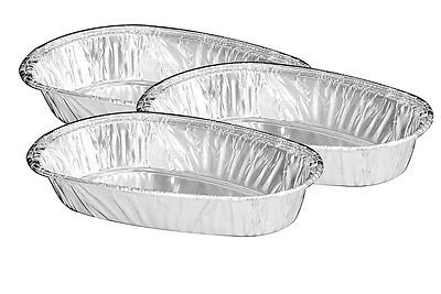 Handi-Foil Small Mini Baked Potato Shell 25/Pk - Disposable Aluminum Tins (pack of 25)