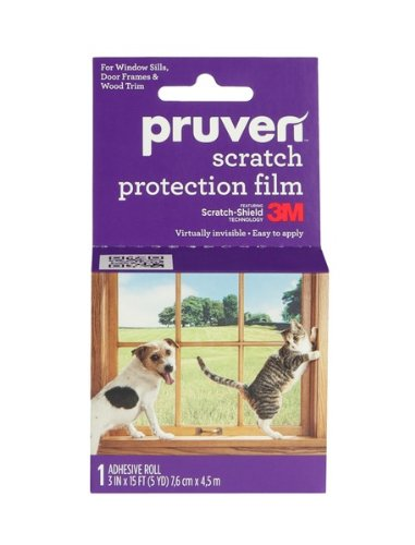 Pruven P-SPF-3-15 Pet Scratch Protection Film, 3 by 15-Feet