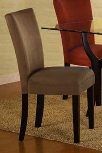 Buy Low Price Home Furniture and Decor Arlington Taupe Parson Dining Chair (Set of 2) (1220149004-A)