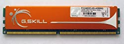 G.SKILL 4GB DDR2 800MHz PC2-6400 240-Pin Desktop Memory Model F2-6400CL6S-4GBMQ