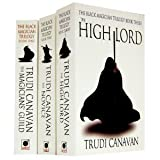 Trudi Canavan The Black Magician Trilogy 3 Books Collection Set Trudi Canavan (The Novice, The Magician's Guild, The High Lord) (The Black Magician Collection)
