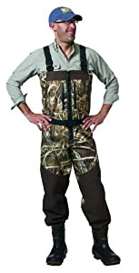 Waterfowl Wading Systems Northern Guide Max-4 Zippered Breathable Bootfoot Wader, 12 by Waterfowl Wading Systems